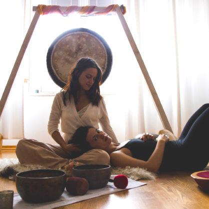 Yin Yoga & Klang mit Luisa und Loredana