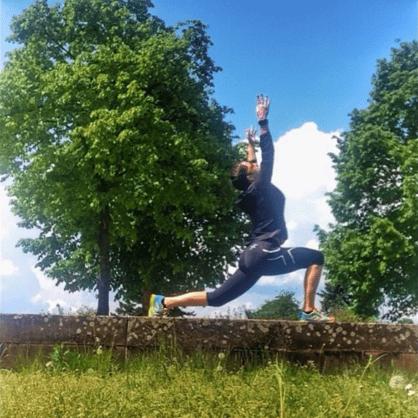 Yoga für Läufer und Triathleten mit Jasmin