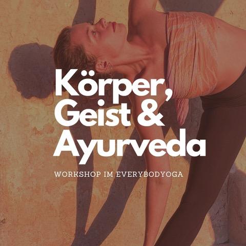 Körper und Geist durch Ayurveda stärken. ONLINE Workshop mit Johanna