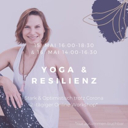 Online-Workshop Resilienz & Yoga mit Manu