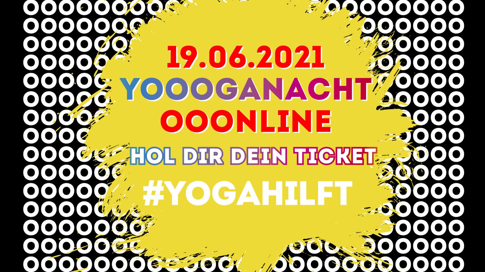 Sei dabei und unterstütze mit deinem Ticket soziales Yoga!